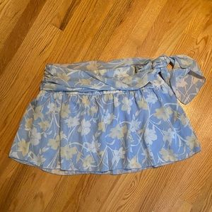 Guess floral mini skirt